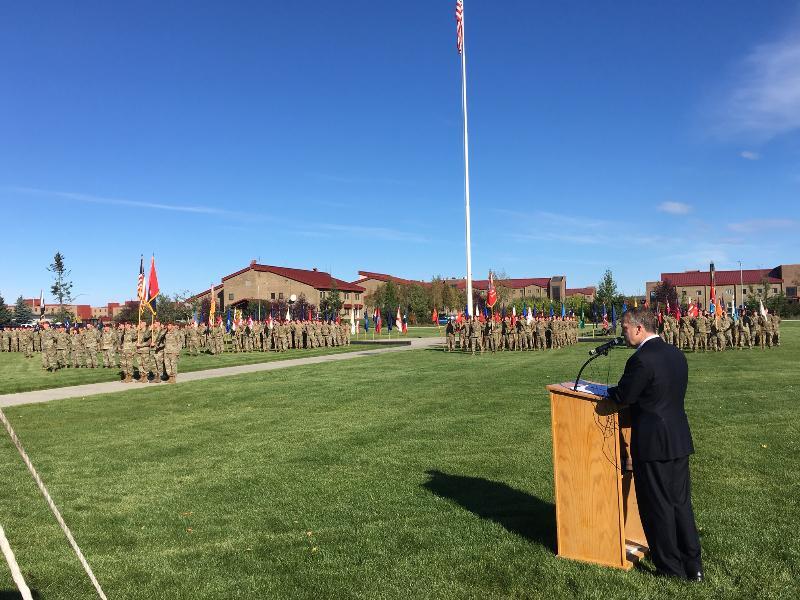 21. 425 Deployment Ceremony